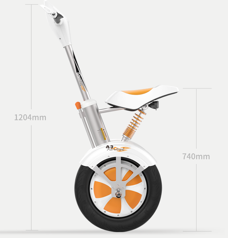 Airwheel Electric Self-balancing Scooter A3, Leader of Sitting-posture Scooter