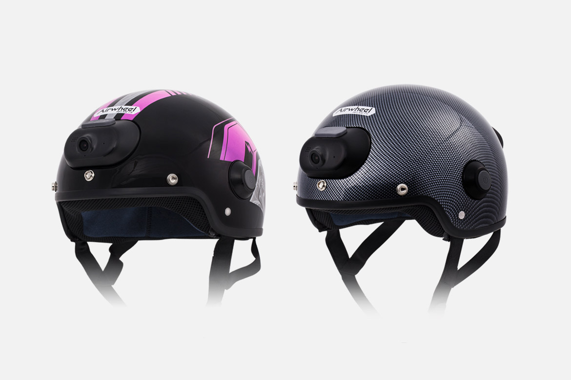 color intelligent helmet