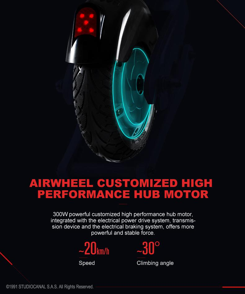 Airwheel E6 smart electric folding bike
