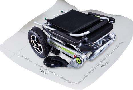 folding smart wheelchair