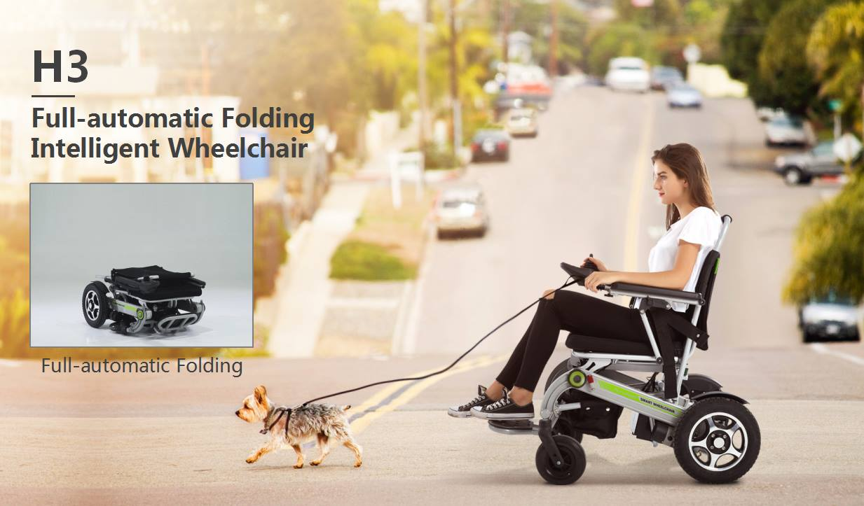 Airwheel smart folding wheelchair