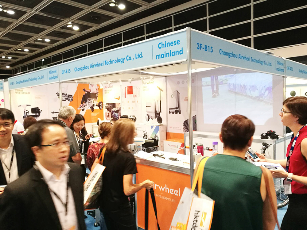 Airwheel Booth at 2018 HK Electronics Fair