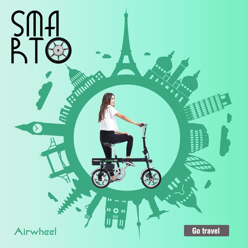 Airwheel R6 intelligent electric bike