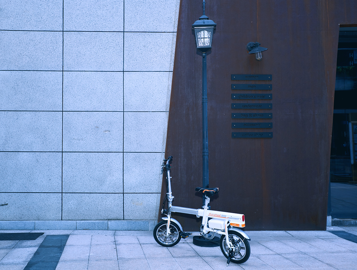 Airwheel R6 smart assist bike