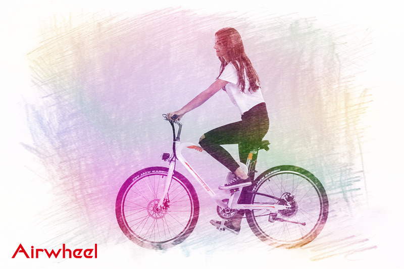 Airwheel R8 Гибридный электрический велосипед