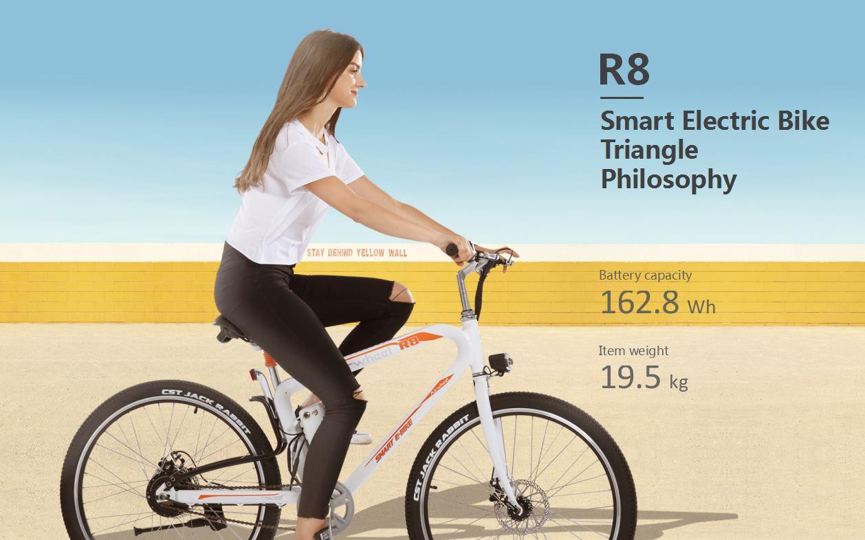 Smart electric bike