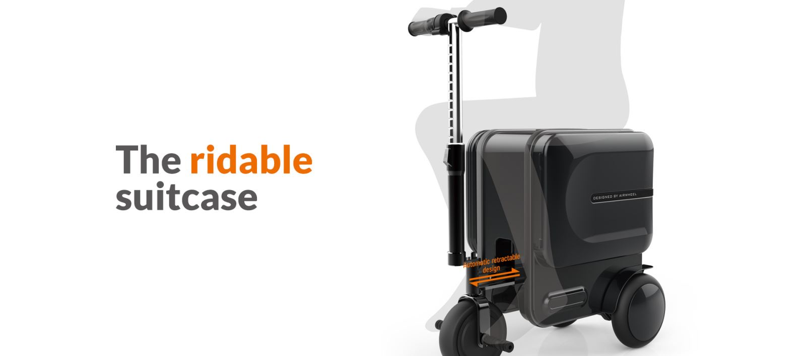 Airwheel SE3 electric suitcase