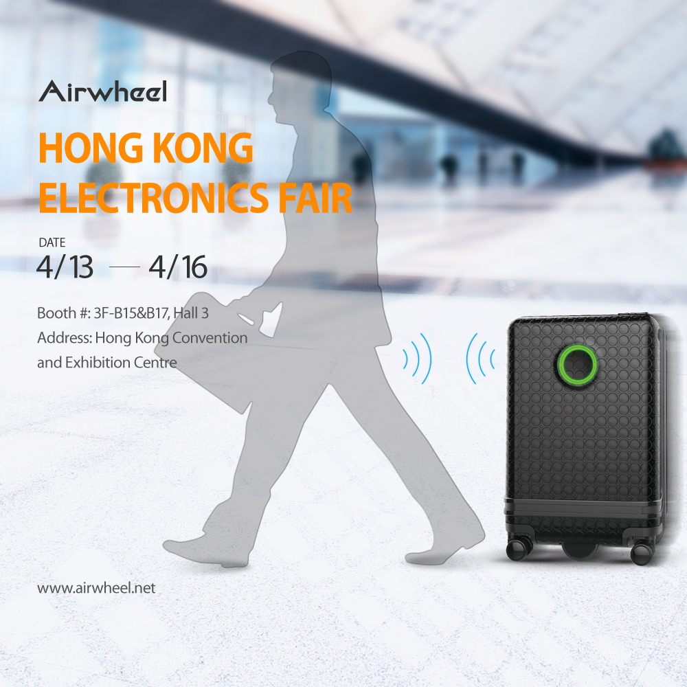 Airwheel SR3 intelligent self-driving suitcase