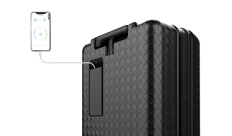 Airwheel SR3 intelligent self-driving suitcase