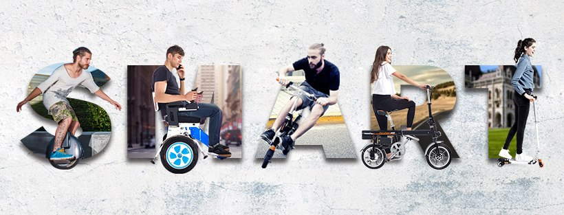 Airwheel smart electric scooters