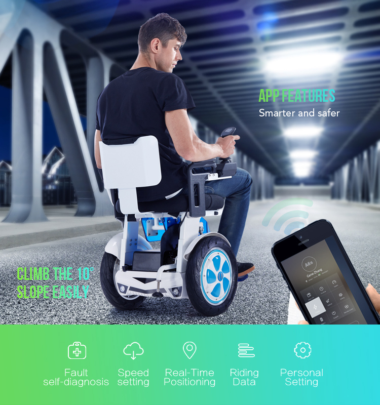 Airwheel A6S balance electric wheelchair.