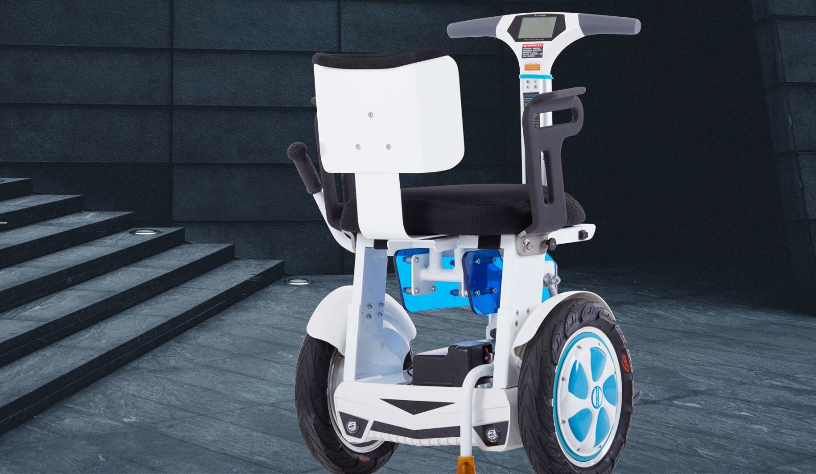 Airwheel A6T smart self balancing wheelchair(3).
