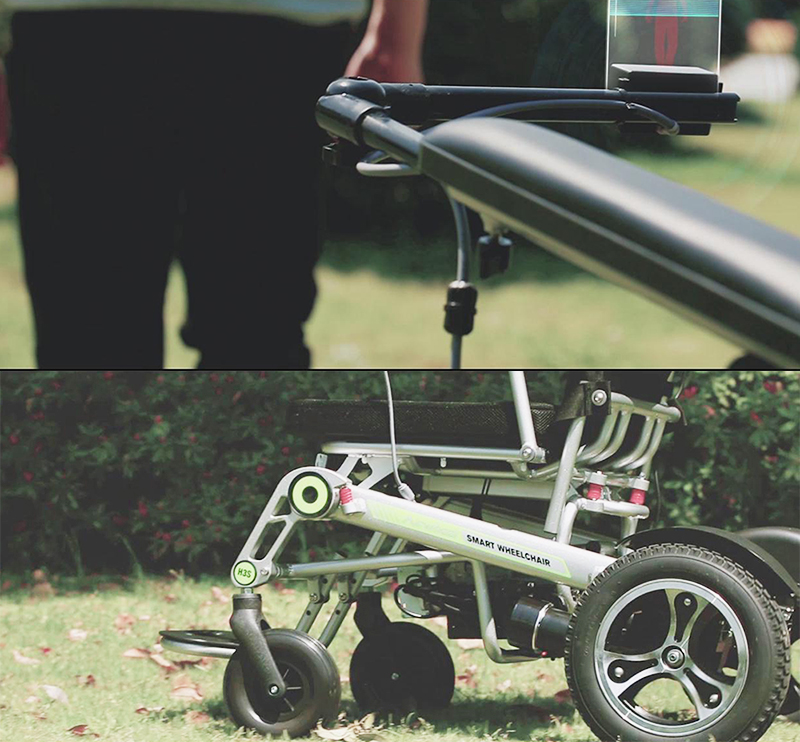 Airwheel H3S folding electric wheelchair(3).