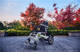 Airwheel H3S folding wheelchair(2).