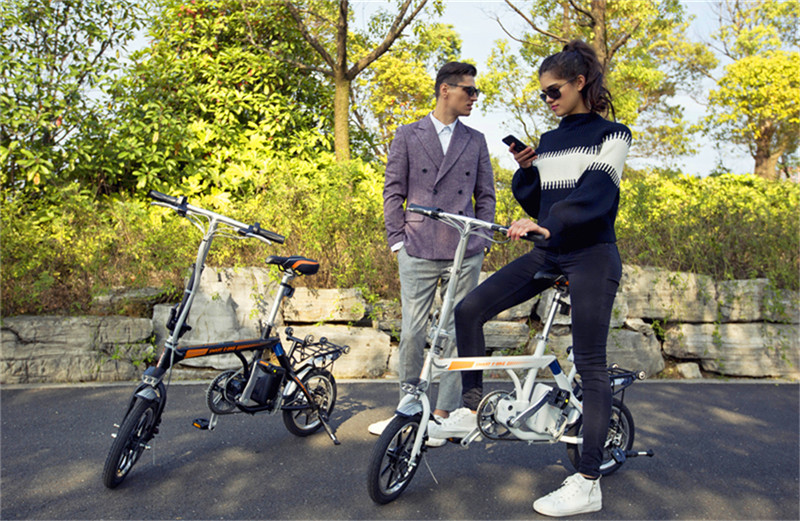 Airwheel R3 electric assist bike(1).