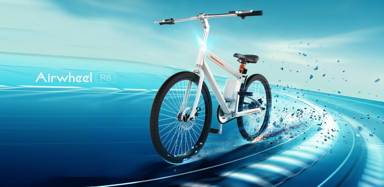 Airwheel R8 buy electric bike.