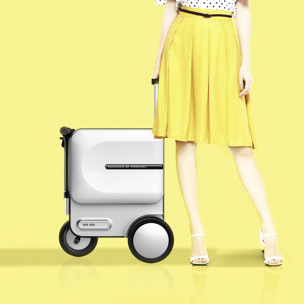 Airwheel SE3 ride on luggage for adults1.