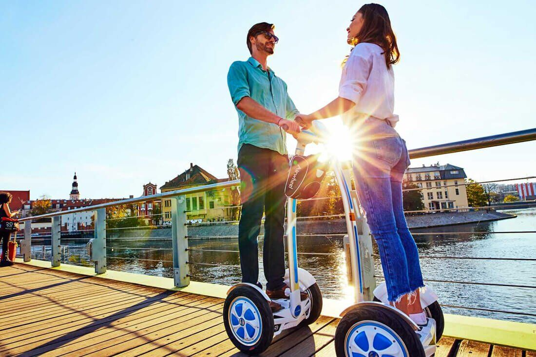 Airwheel S self balancing electric scooter.