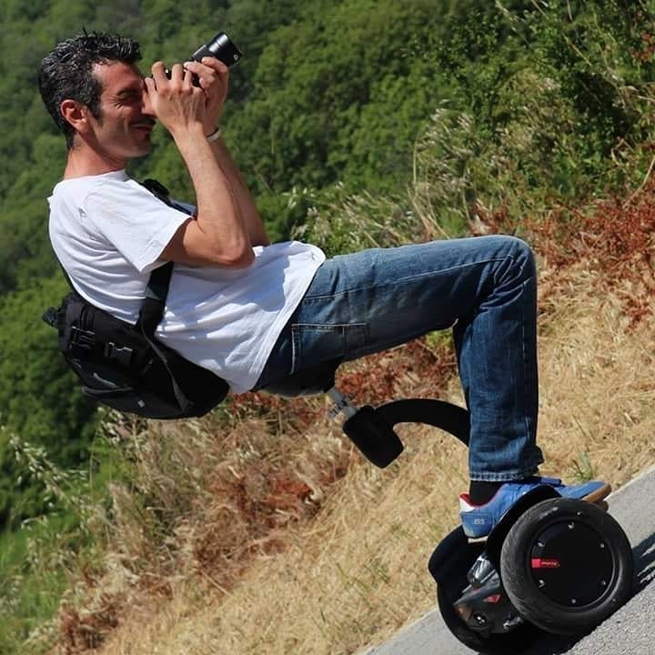 Airwheel S smart balance electric scooter.