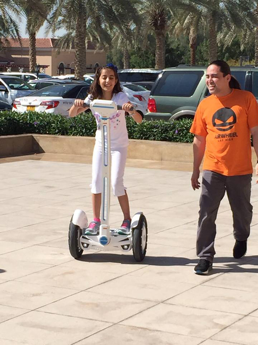 Airwheel, electric unicycle