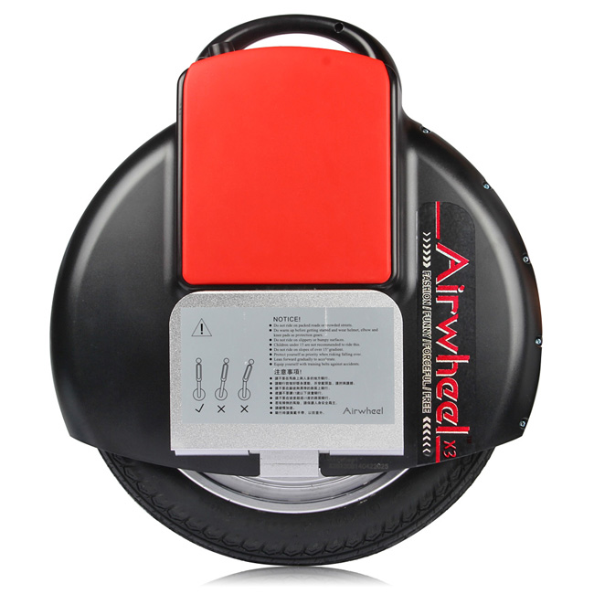 Airwheel X3, Una Ruota Scooters Elettrici
