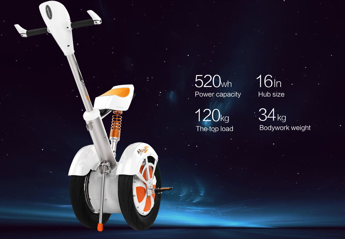 Another Very Valuable Gift from Airwheel to Consumers—Airwheel A3 Sitting-posture Scooters.
