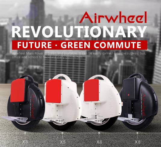Ein neues Kultur Symbol von Street Airwheel elektro erscheint Einrad.
