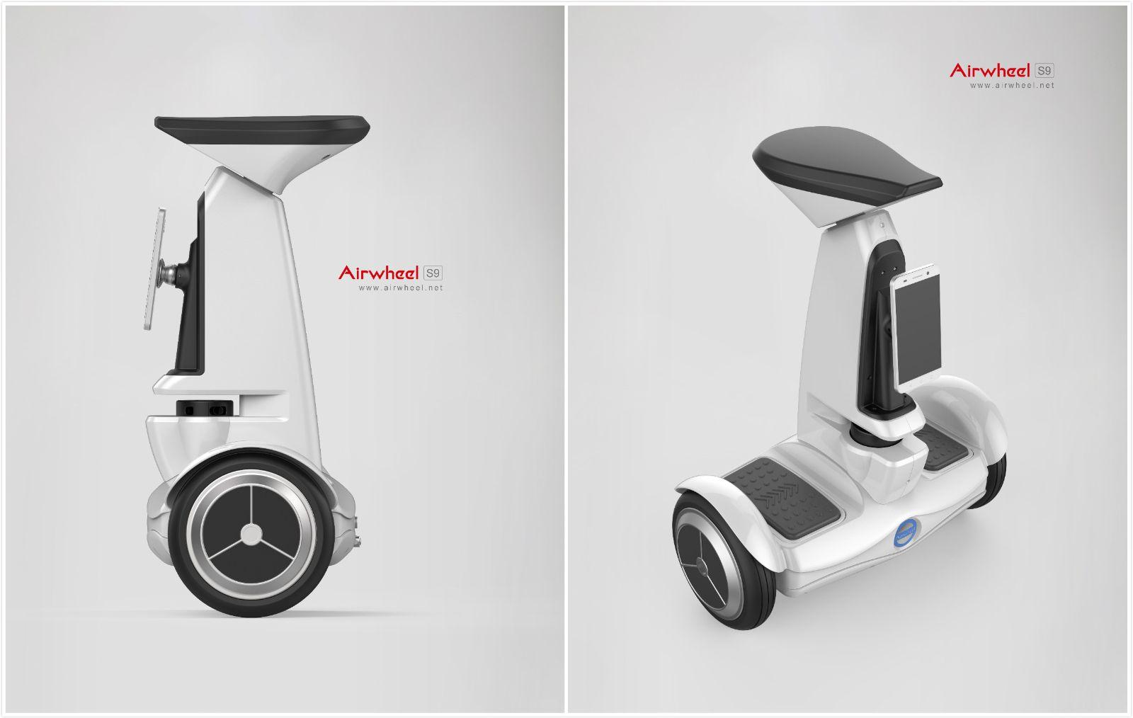 Airwheel S9 2-колесный электрический скутер