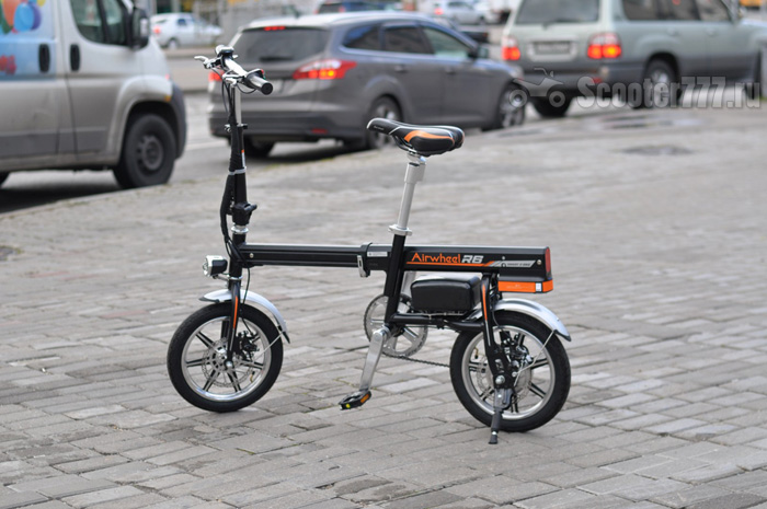 airwheel r6 Electric Bicycle Reviews.