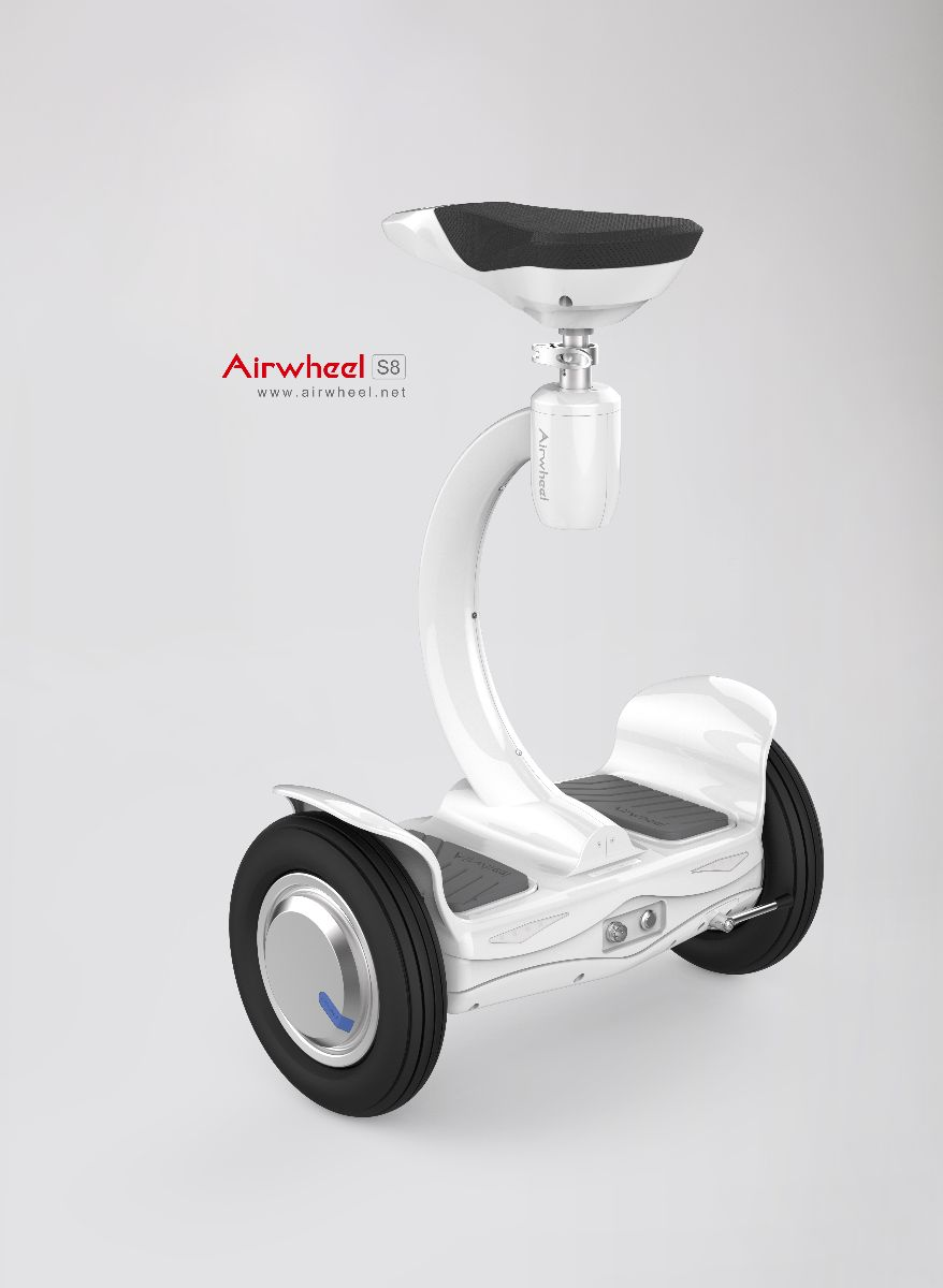 Airwheel S8 electric scooter with seat for kids