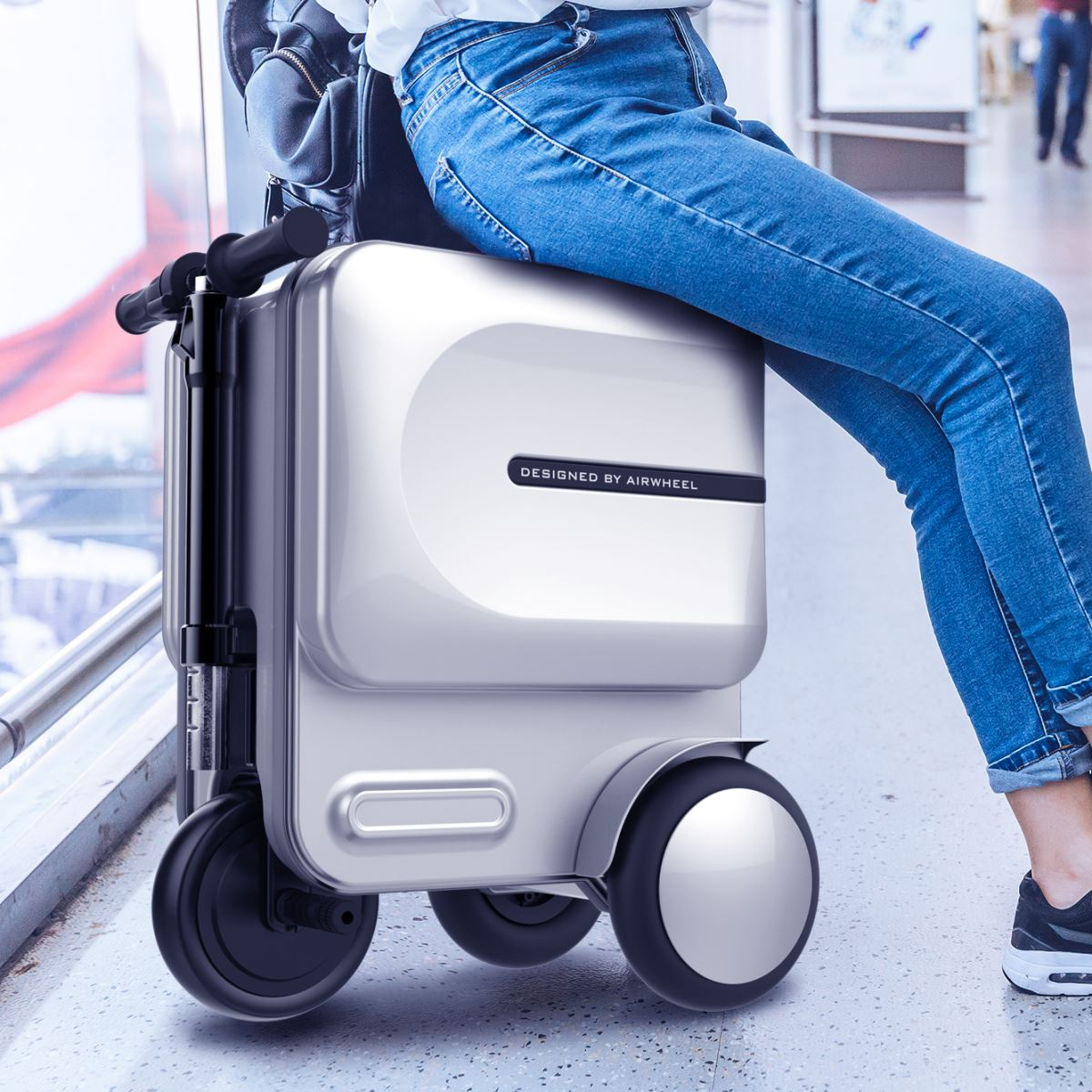 airwheel se3 rideable carry on luggage(2).