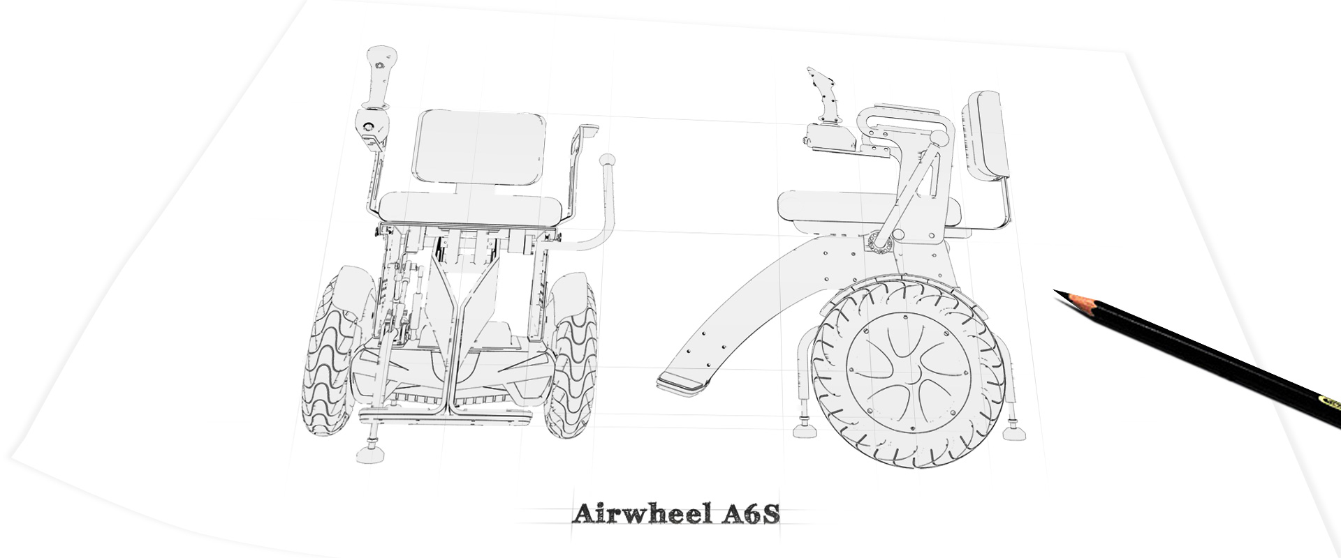 Airwheel A6S motorized wheelchair