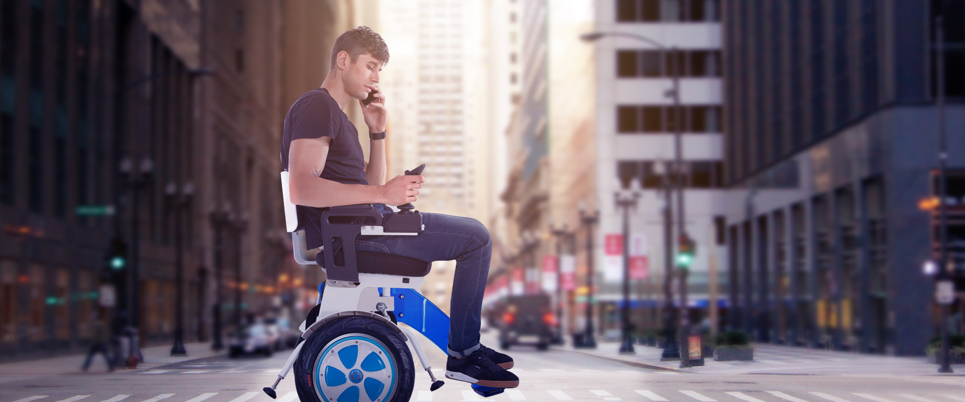Airwheel A6S somatosensory smart wheelchair