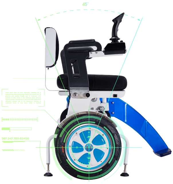 Airwheel A6S Smart Wheelchair