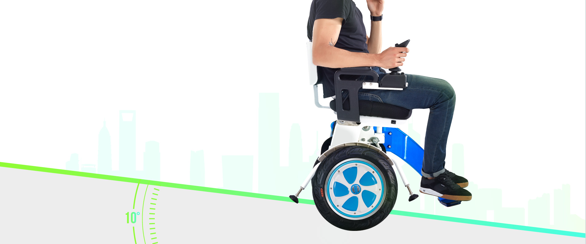 Airwheel A6S intelligent self-balancing wheelchair
