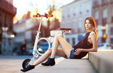 Airwheel E3 Smart Electric Folding Bike