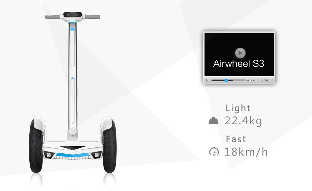 Airwheel, scooter elettrico, una ruota scooters elettrici