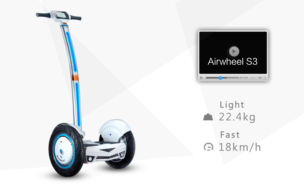 S3 self balancing electric scooter