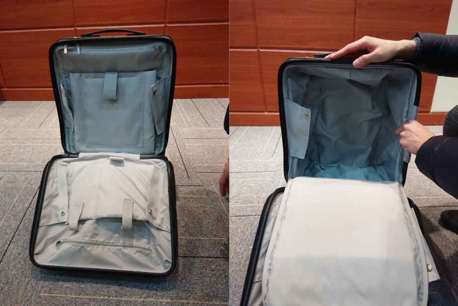 valise auto-conduite intelligente
