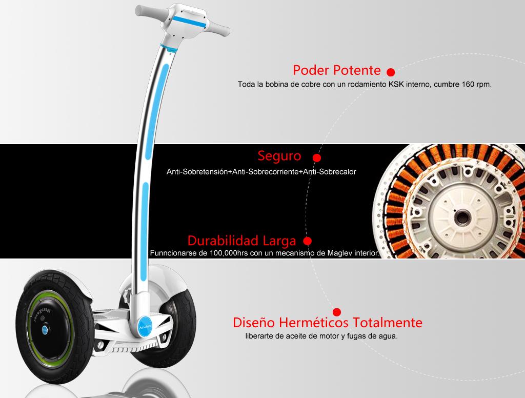 Airwheel, una rueda scooter, monociclo eléctrica
