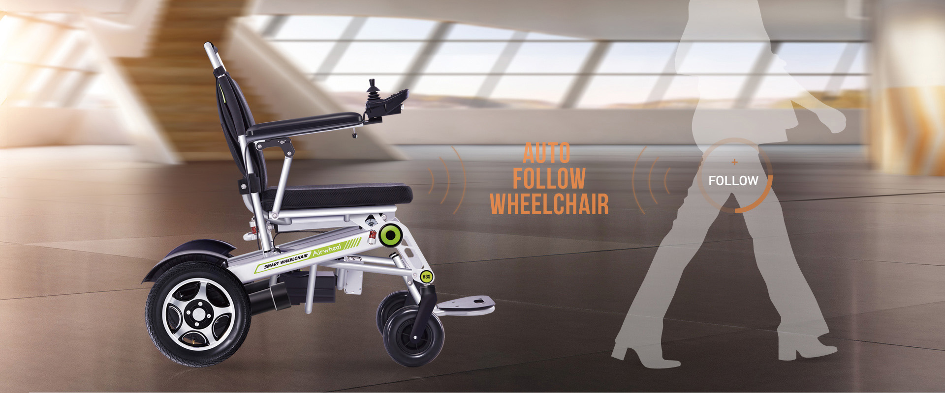 Airwheel H3S smart folding wheelchair