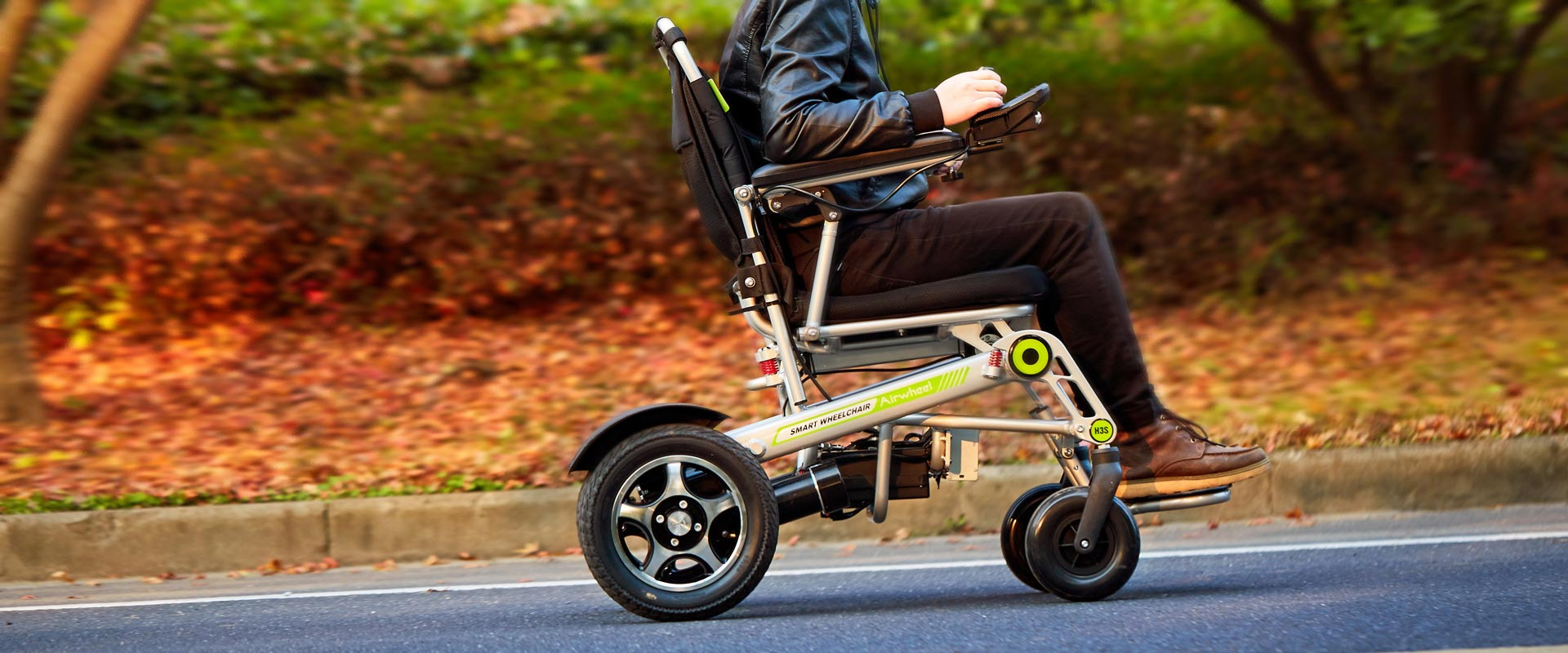 Airwheel H3s Folding Electric Power Wheelchair