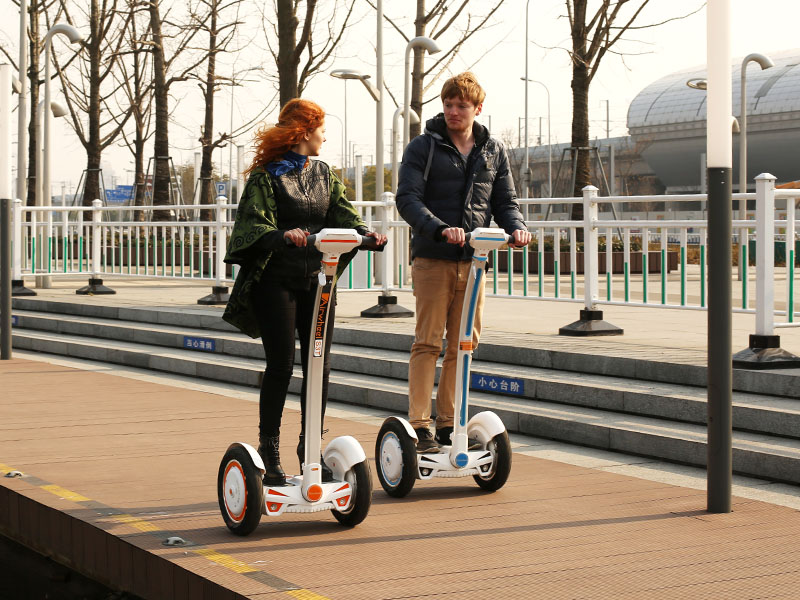 Airwheel Self-balancing Intelligent Unicycle: Life Lies in Exercises