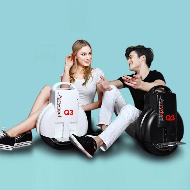 Airwheel, mono roue motorisé scooter mini, une roue scooter électrique