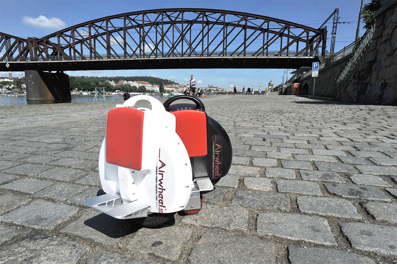 Airwheel, una rueda eléctrico scooter