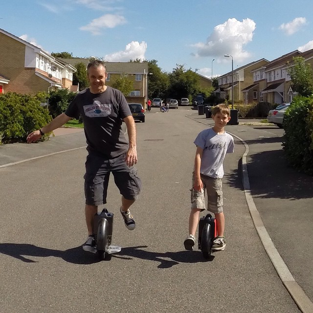 Airwheel X8, Standing Up Electric Scooter