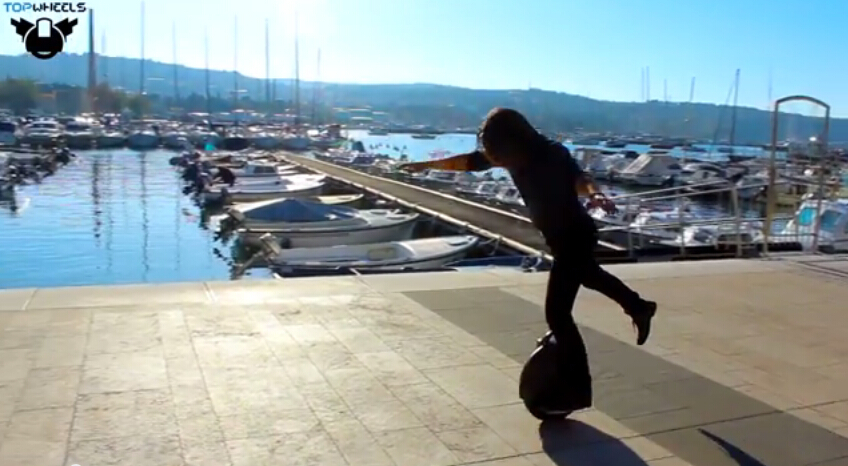 Airwheel offers self-balancing electric unicycles and scooters