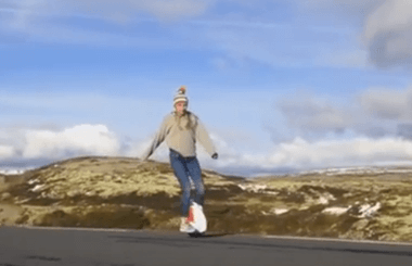 self-balancing unicycle,Airwheel X3