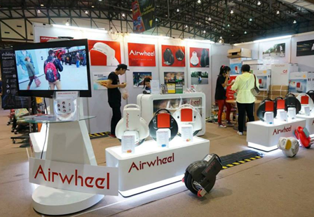 In May, Airwheel is going to attend Mach-Tech & ElectroSalon held in Budapest, Hungary. In this exhibition, Airwheel is due to unveil its new model along with others classic models, e.g. the intelligent self-balancing scooter S3, its classic models of X-series and Q-series.