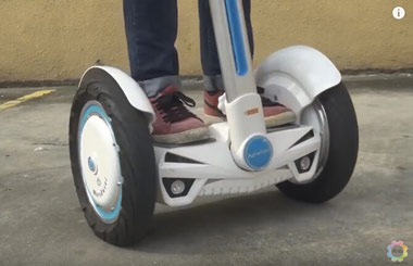2-wheeled scooter,Airwheel S3,self balancing scooter